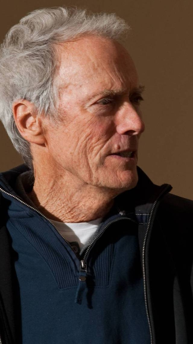 Clint Eastwood Close-Up for 640 x 1136 iPhone 5 resolution