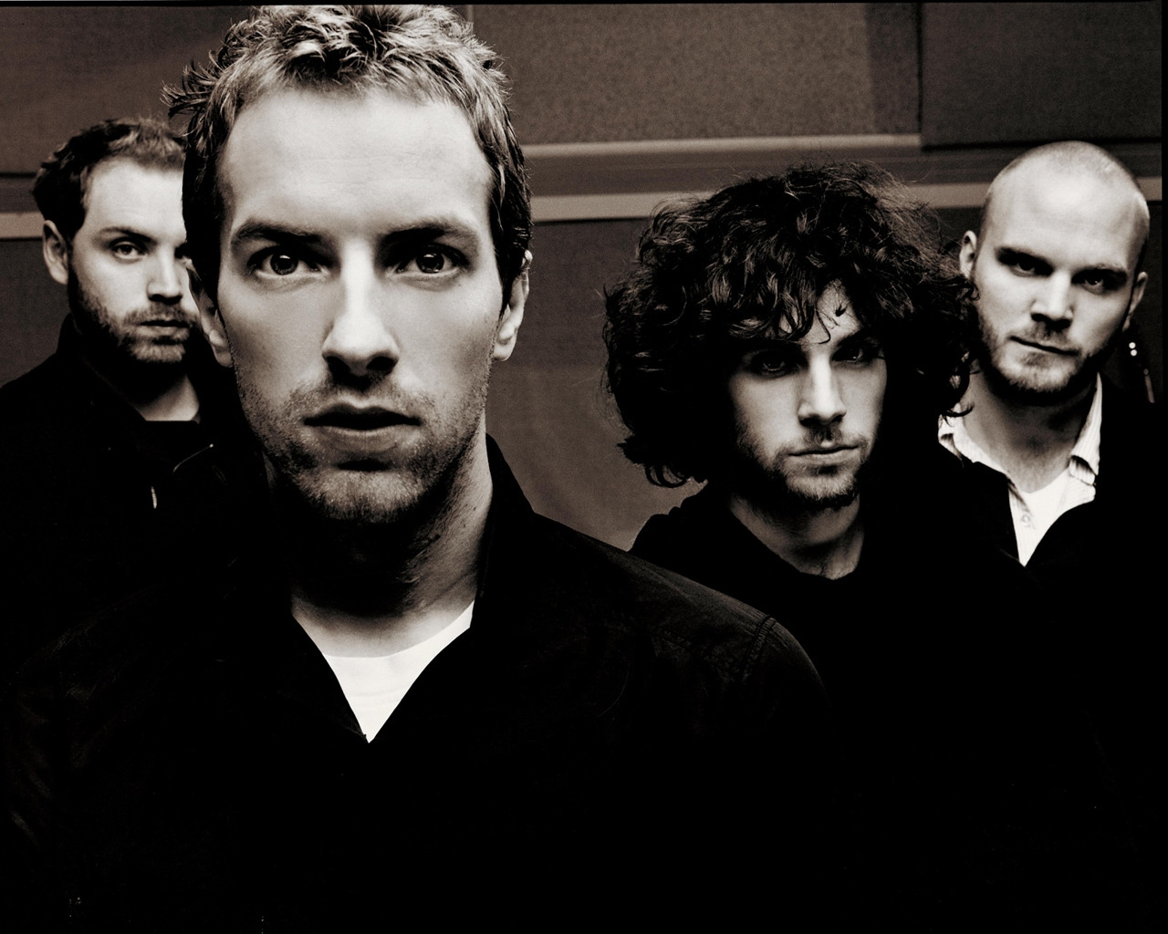Coldplay Black and White for 1280 x 1024 resolution