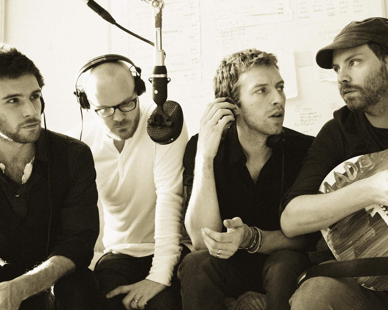 Coldplay Vintage for 1280 x 1024 resolution