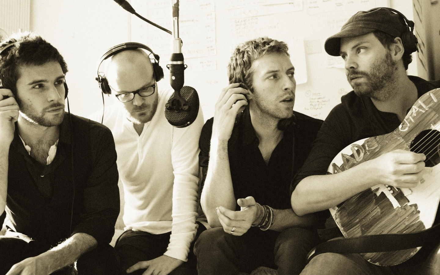 Coldplay Vintage for 1440 x 900 widescreen resolution