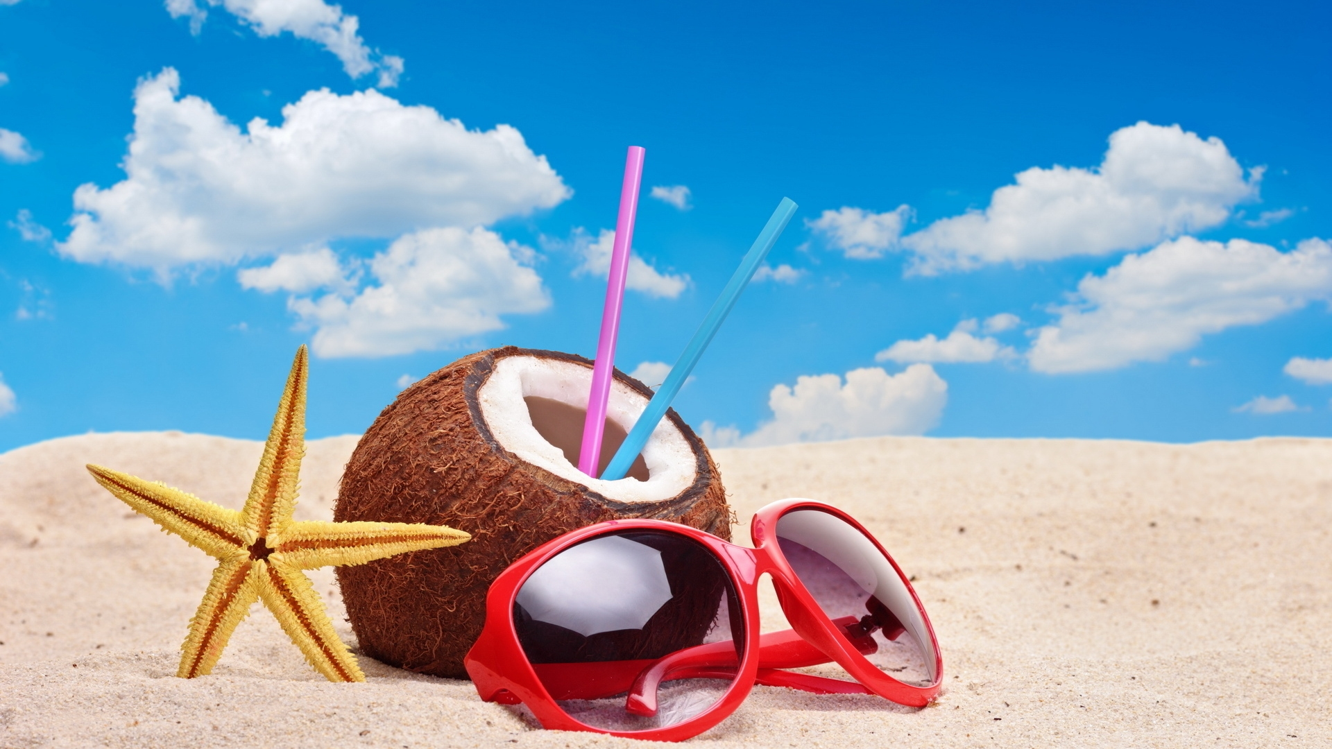 Colourful Summer Accessories for 1920 x 1080 HDTV 1080p resolution
