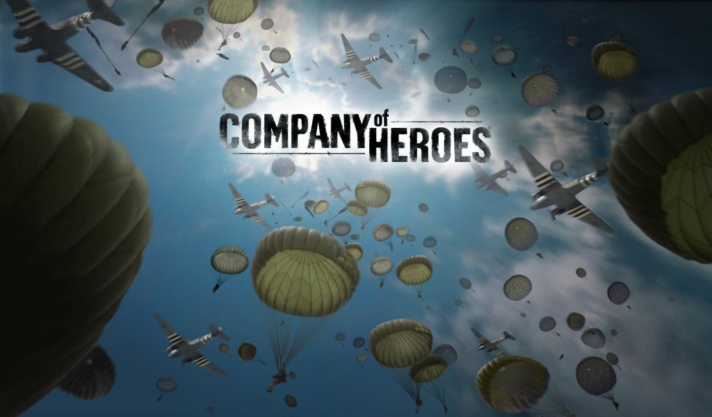 Company of Heroes for 1024 x 600 widescreen resolution