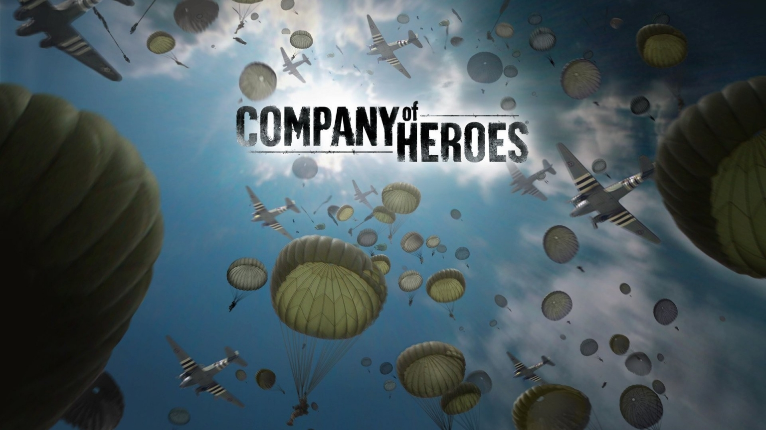 Company of Heroes for 1536 x 864 HDTV resolution