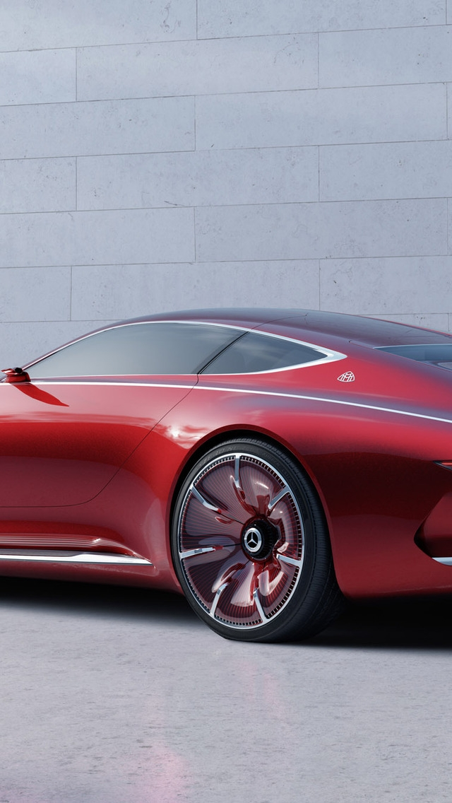 Concept Car Maybach 6 2016 for 640 x 1136 iPhone 5 resolution