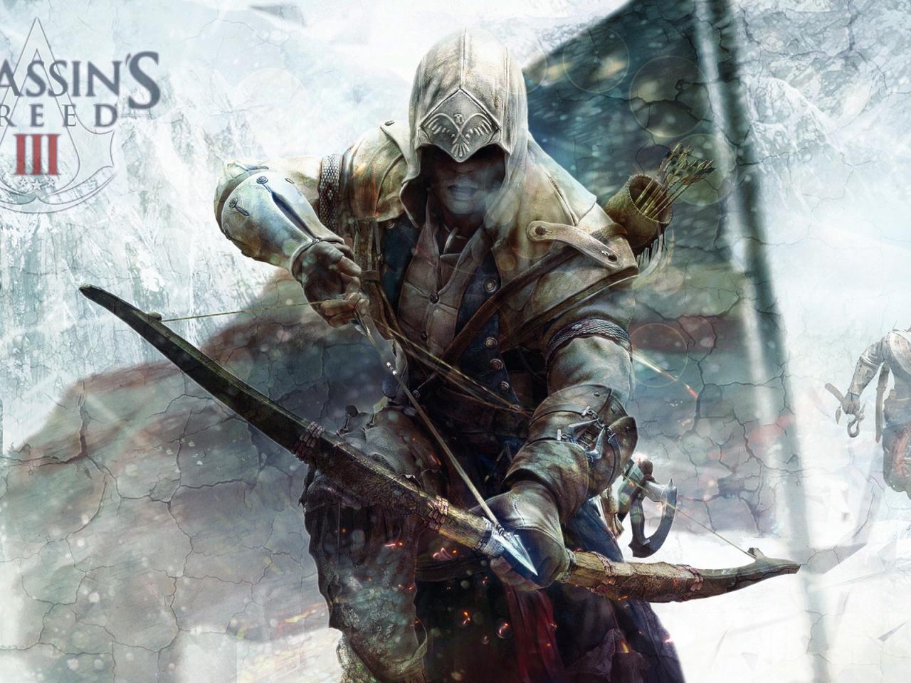 Connor Assassins Creed 3 Hd Wallpaper Wallpaperfx