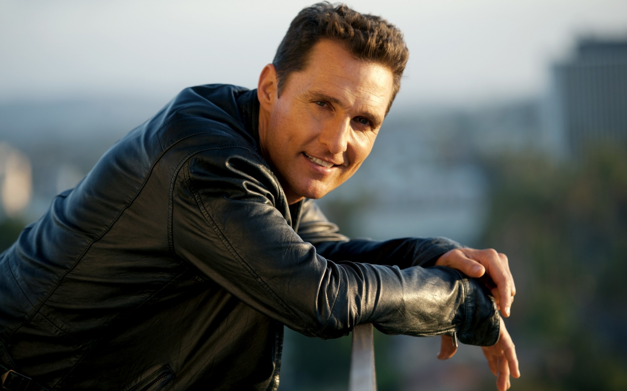 Cool Matthew McConaughey for 1280 x 800 widescreen resolution