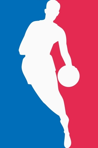 Cool NBA Logo for 320 x 480 iPhone resolution