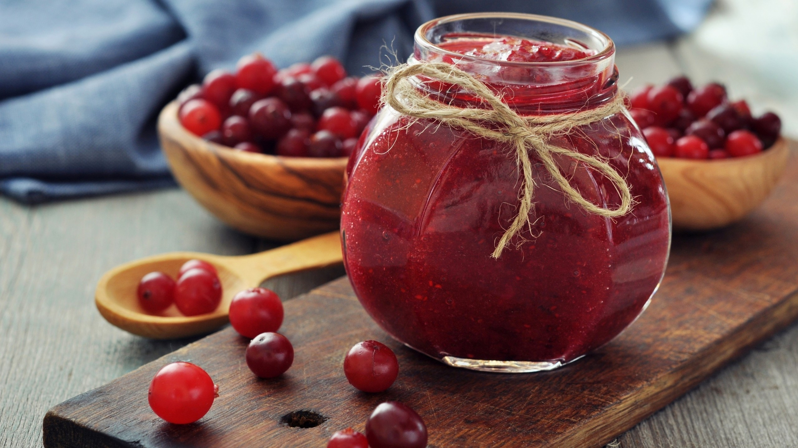 Cranberries Jam Jar for 2560x1440 HDTV resolution