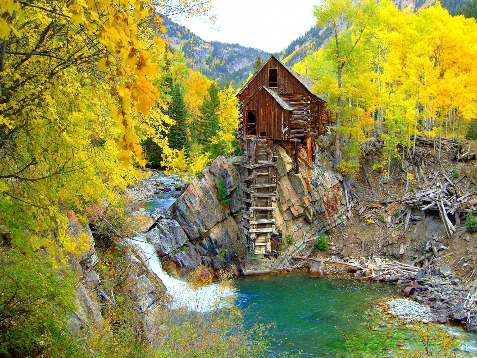 Crystal Mill Colorado for 1600 x 1200 resolution