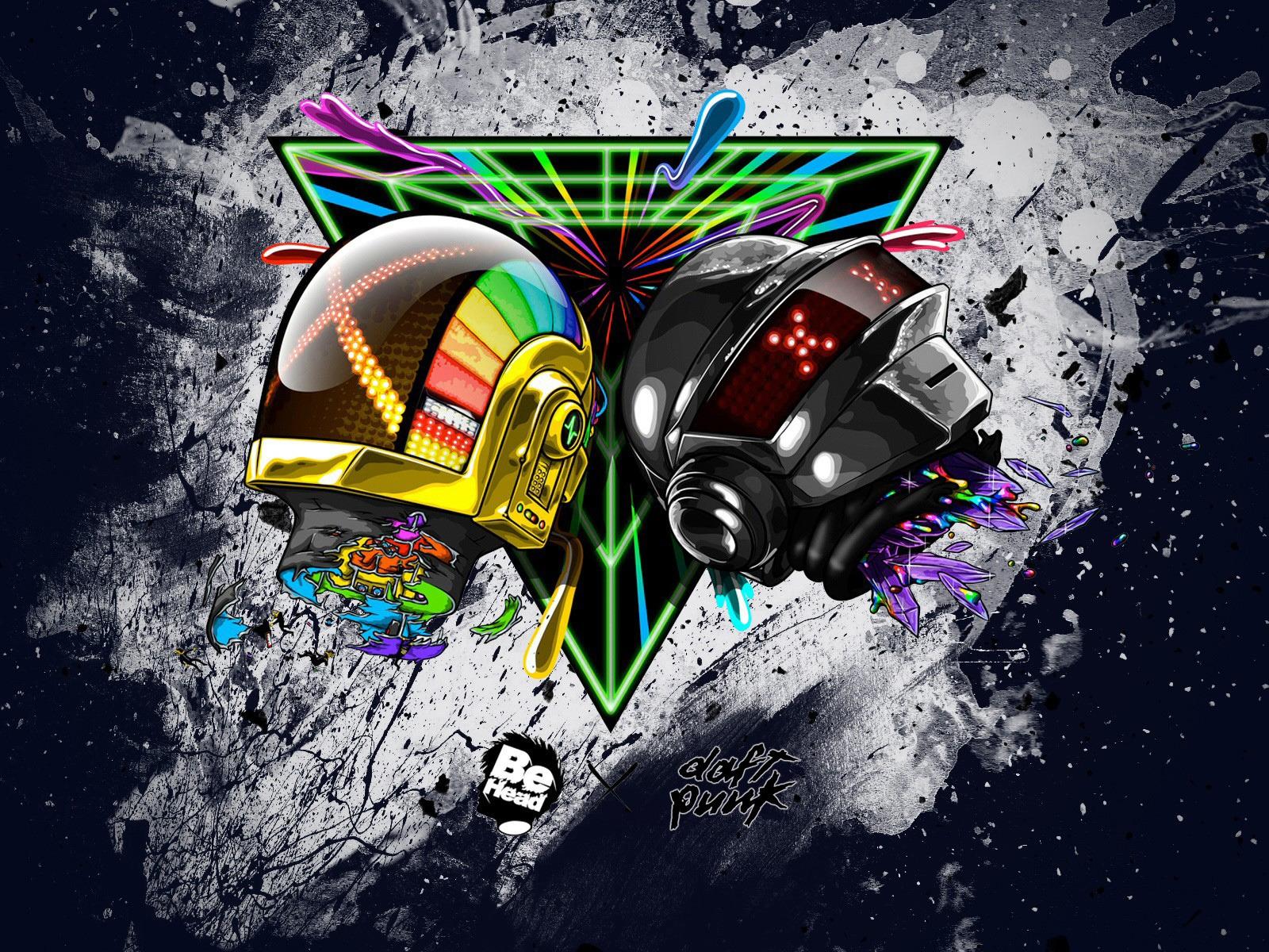 Daft Punk Artistic Hd Wallpaper Wallpaperfx
