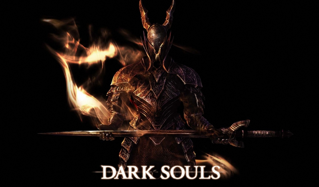 Dark Souls Art for 1024 x 600 widescreen resolution