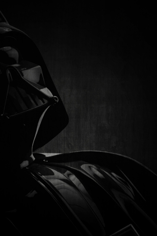 Darth Vader Character, for 320 x 480 iPhone resolution