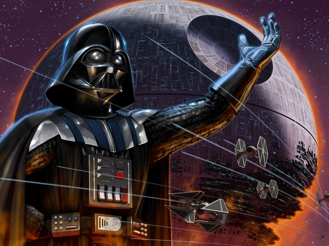 Darth Vader Star Wars Character for 1152 x 864 resolution