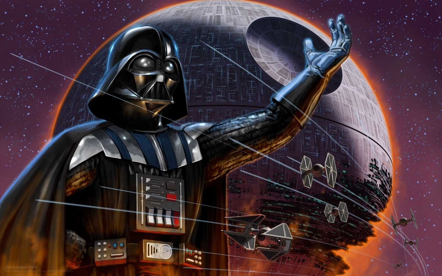 Darth Vader Star Wars Character for 1680 x 1050 widescreen resolution