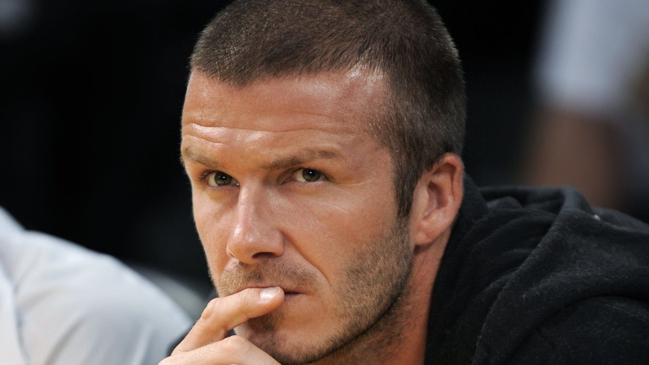 David Beckham for 1280 x 720 HDTV 720p resolution