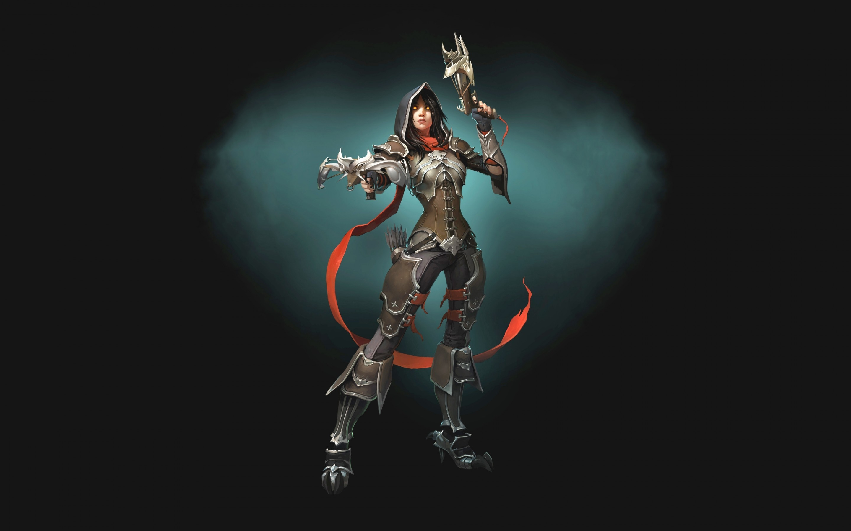 Demon Hunter Diablo 3 Hd Wallpaper Wallpaperfx