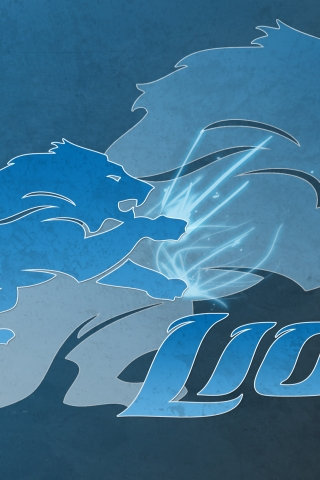Detroit Lions Logo for 320 x 480 iPhone resolution