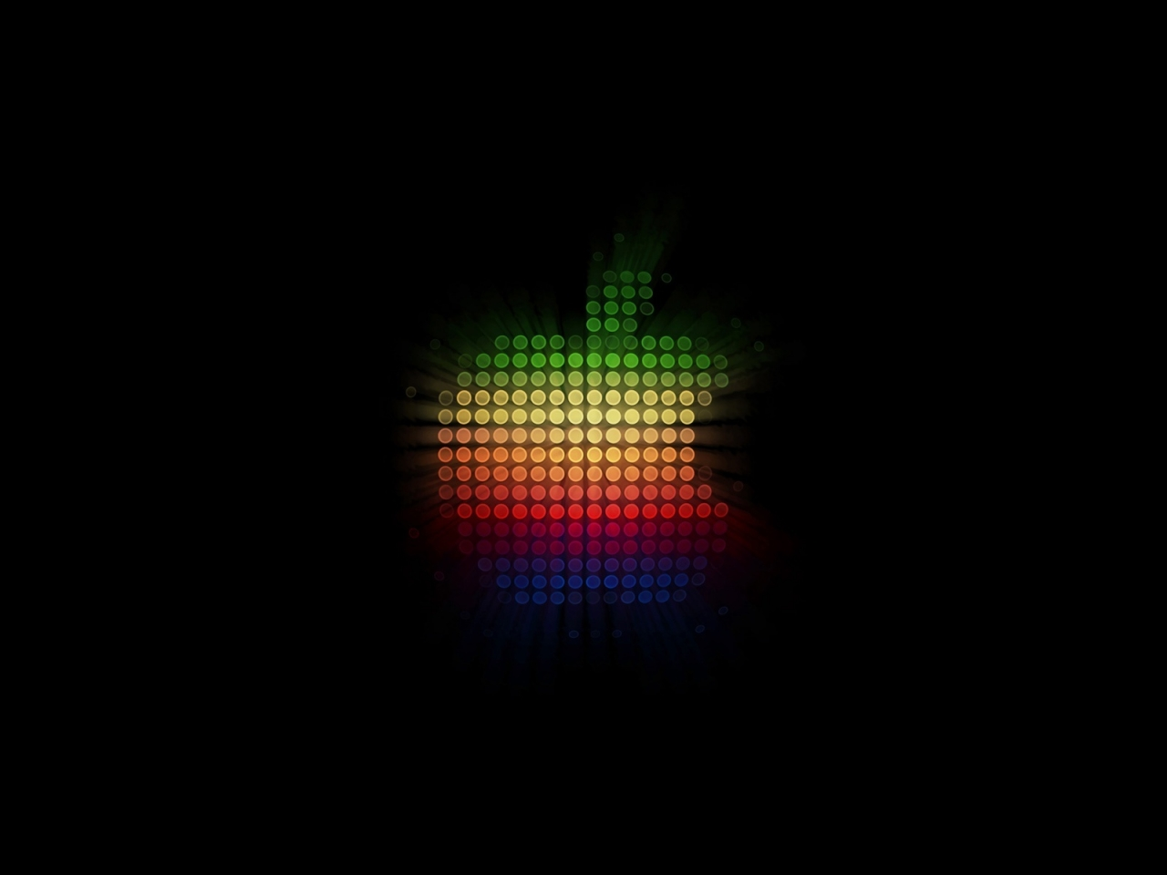 Disco Apple for 1280 x 960 resolution