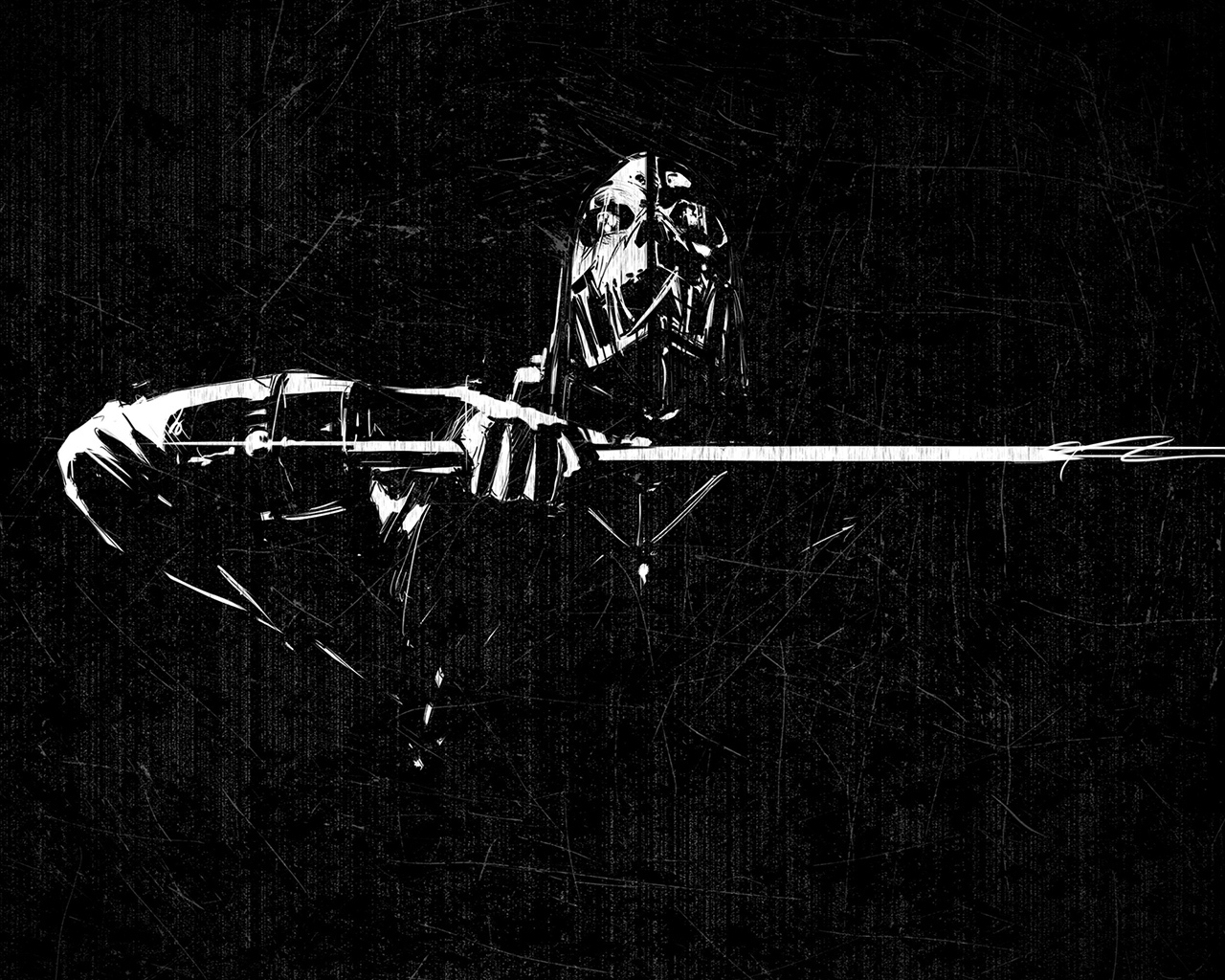 Dishonored Scraped Minimal for 1280 x 1024 resolution