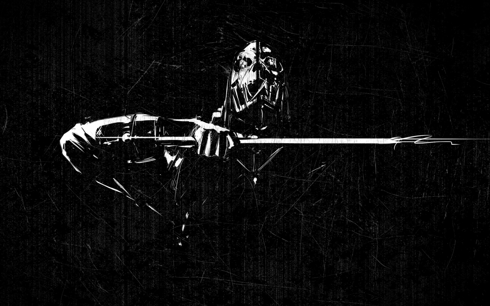 Dishonored Scraped Minimal for 1680 x 1050 widescreen resolution