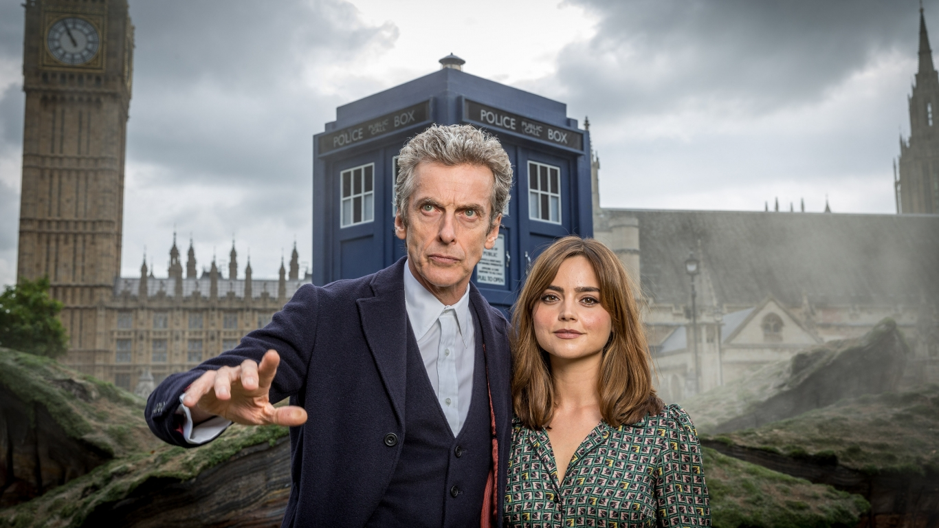 Doctor Who London for 1366 x 768 HDTV resolution