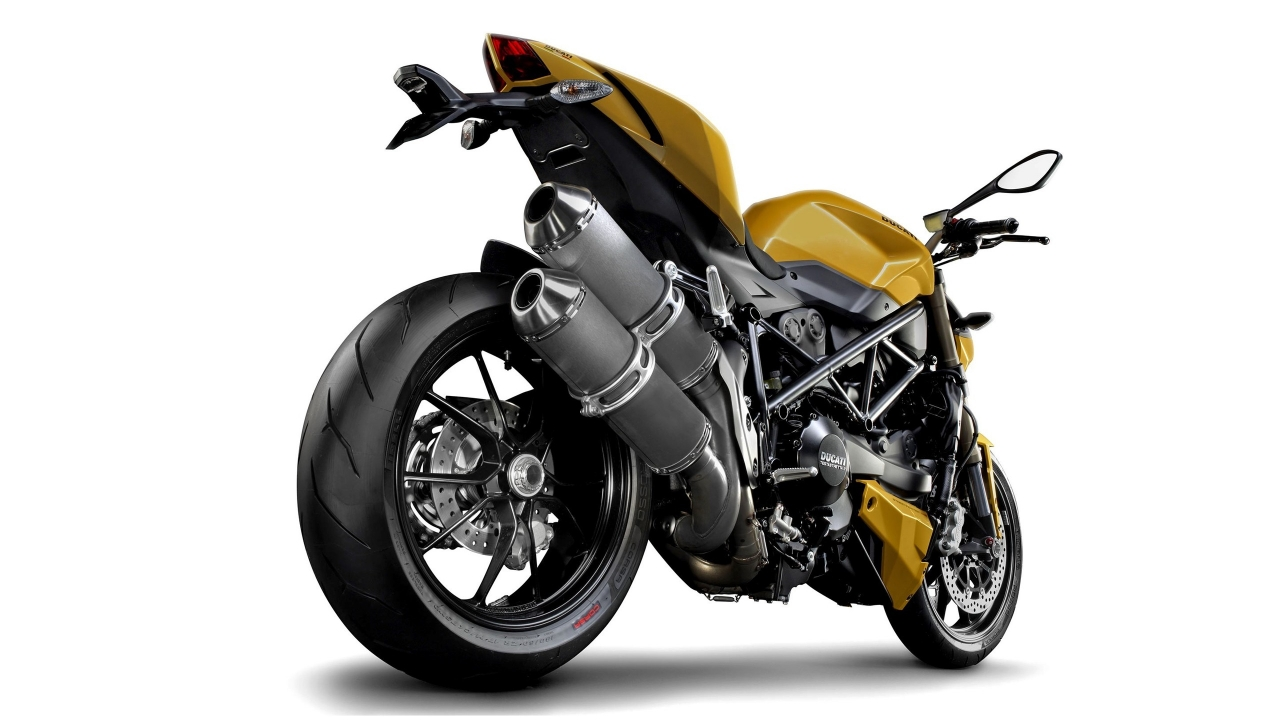 Ducati Streetfighter Rear for 1280 x 720 HDTV 720p resolution