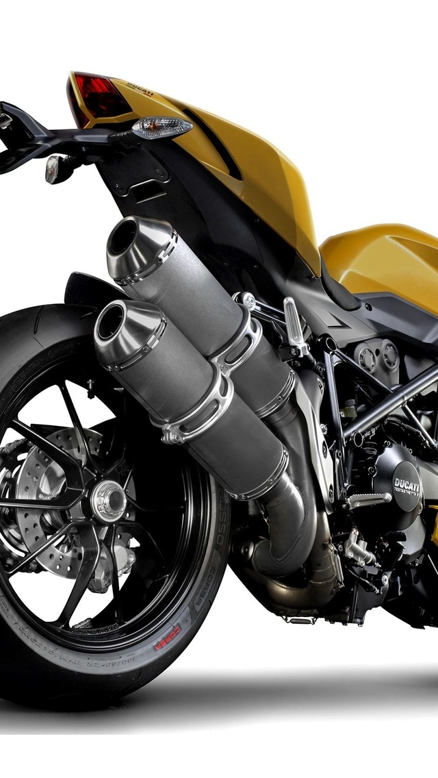 Ducati Streetfighter Rear for 640 x 1136 iPhone 5 resolution