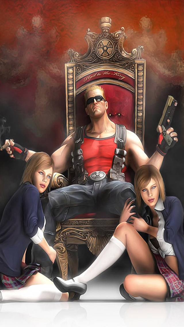 Duke Nukem Forever Poster for 640 x 1136 iPhone 5 resolution