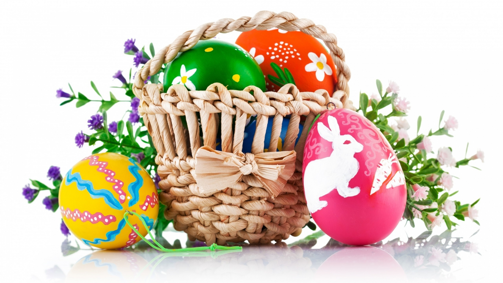 Easter Basket for 1600 x 900 HDTV resolution