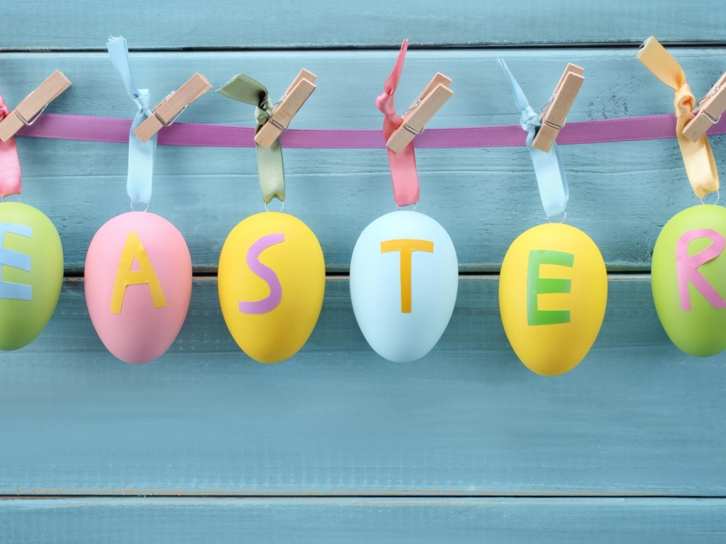 Easter Decorations for 1024 x 768 resolution