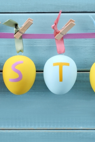 Easter Decorations for 320 x 480 iPhone resolution