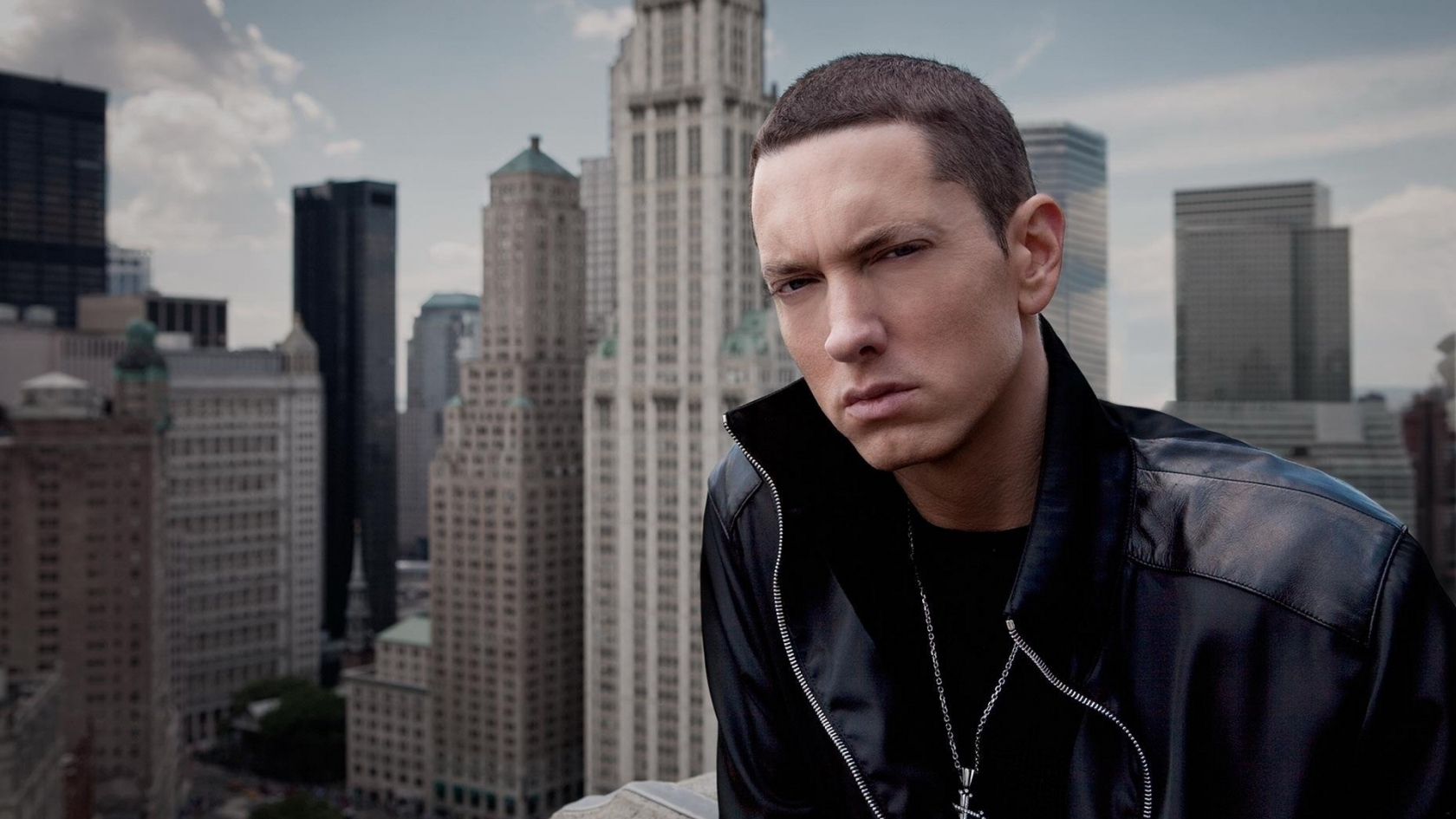 Eminem Close Look for 1680 x 945 HDTV resolution