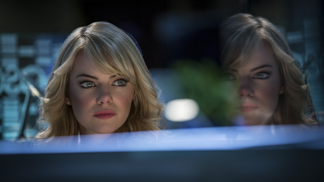 Emma Stone The Amazing Spider-Man 2 for 1280 x 720 HDTV 720p resolution