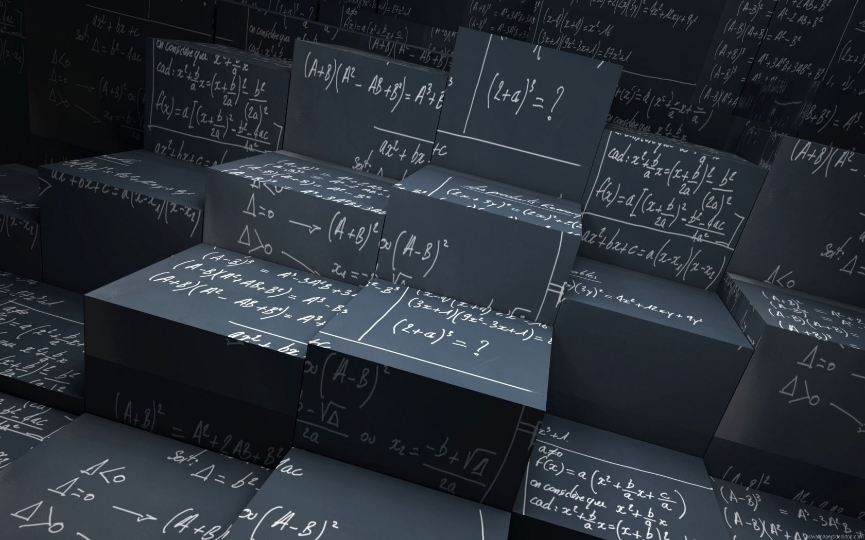 Equations for 1680 x 1050 widescreen resolution