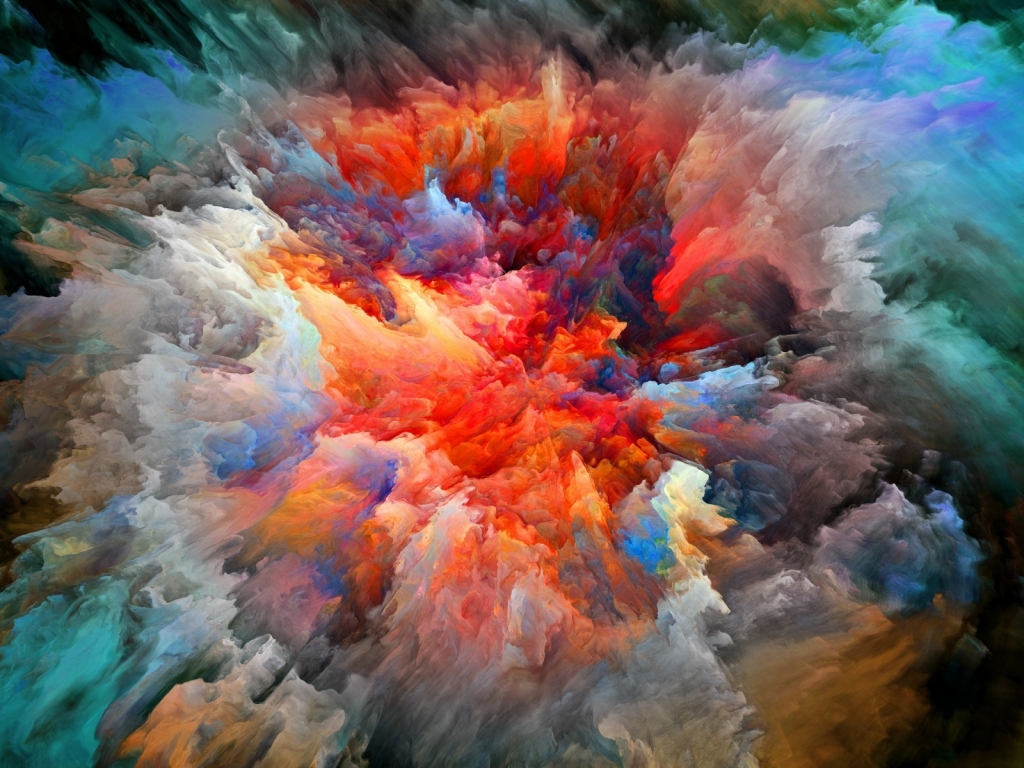 Explosion of Colors for 1024 x 768 resolution