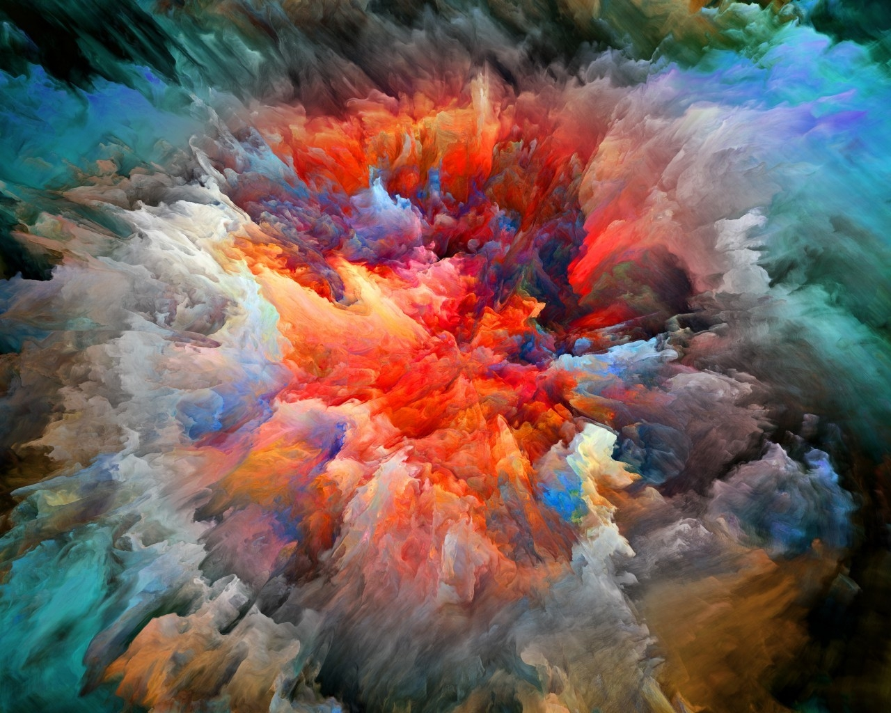 Explosion of Colors for 1280 x 1024 resolution