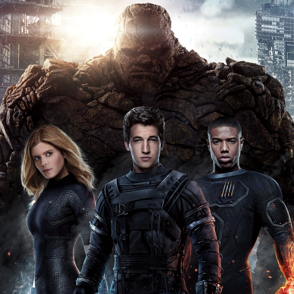 Fantastic Four for 1024 x 1024 iPad resolution