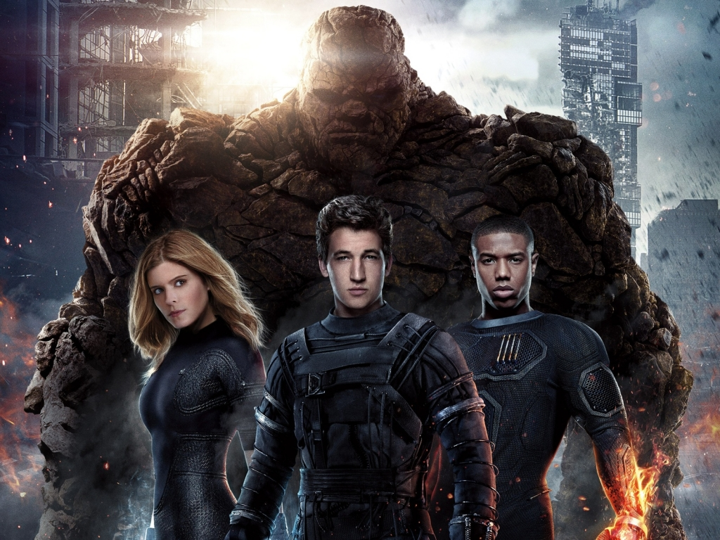 Fantastic Four for 1024 x 768 resolution