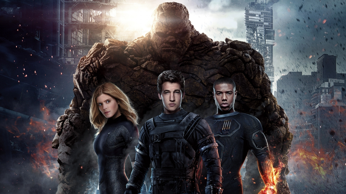 Fantastic Four for 1366 x 768 HDTV resolution