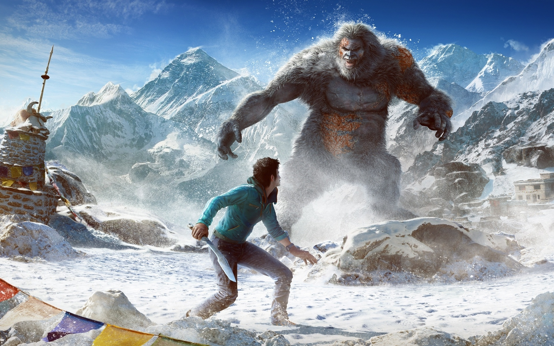 Far Cry 4 Valley Of The Yetis Hd Wallpaper Wallpaperfx