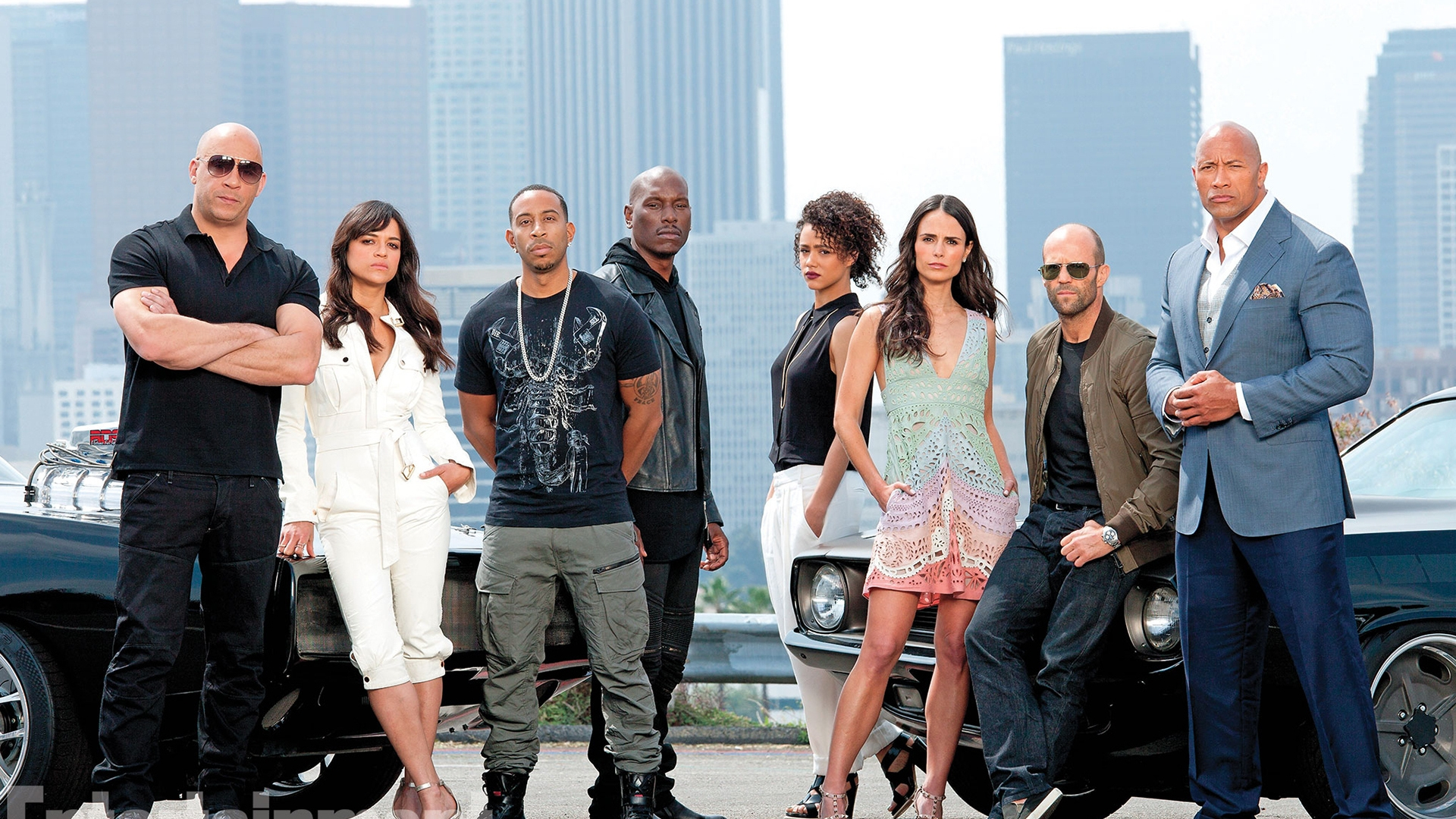 Fast And Furious 7 for 1920 x 1080 HDTV 1080p resolution