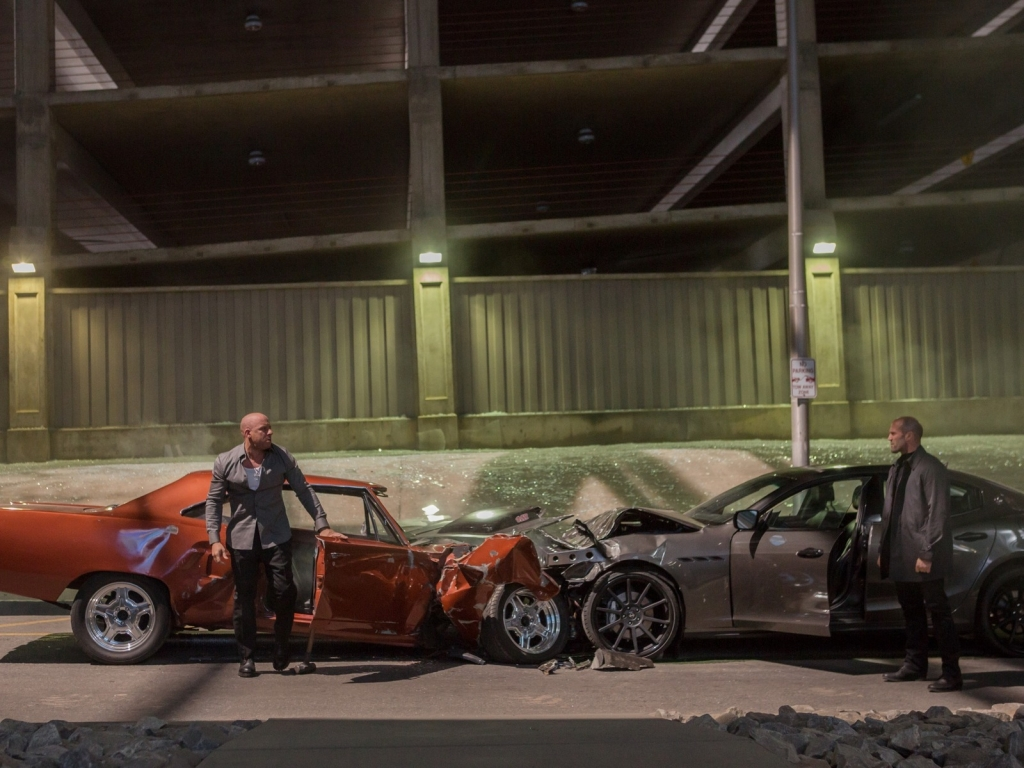 Fast And Furious 7 Movie Scene for 1024 x 768 resolution