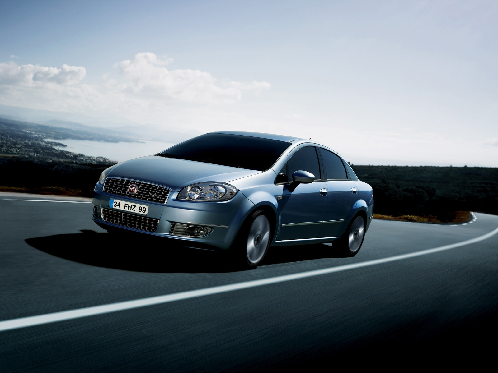 Fiat Linea 2009 Speed for 1600 x 1200 resolution