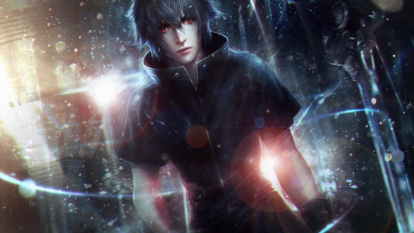 Final Fantasy XV Art Boy Light for 1366 x 768 HDTV resolution