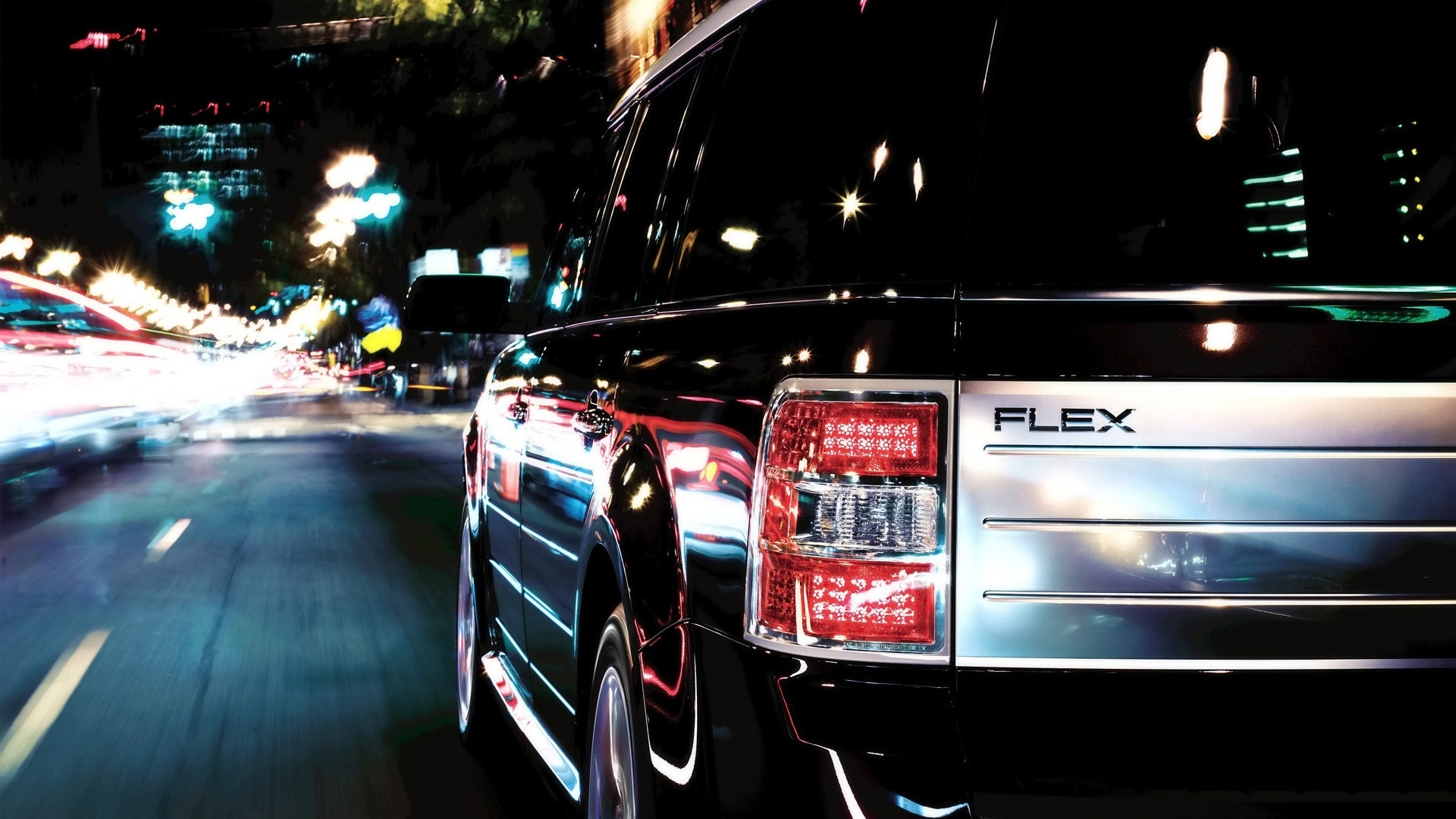 Ford Flex Speed 2009 for 1920 x 1080 HDTV 1080p resolution
