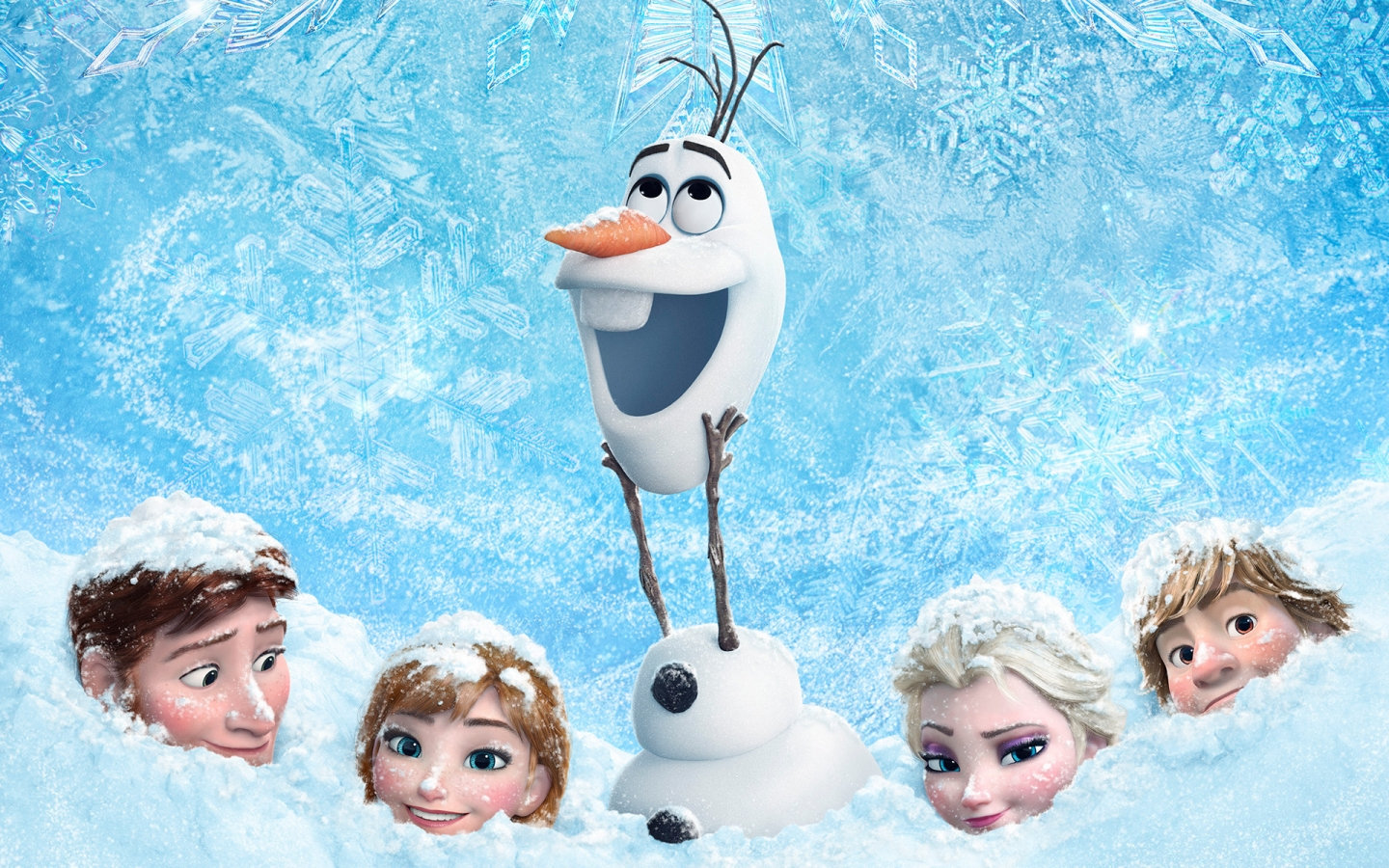 Frozen Animation for 1440 x 900 widescreen resolution