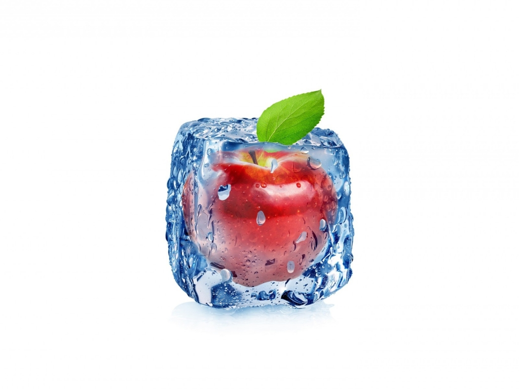 Frozen Apple for 1024 x 768 resolution