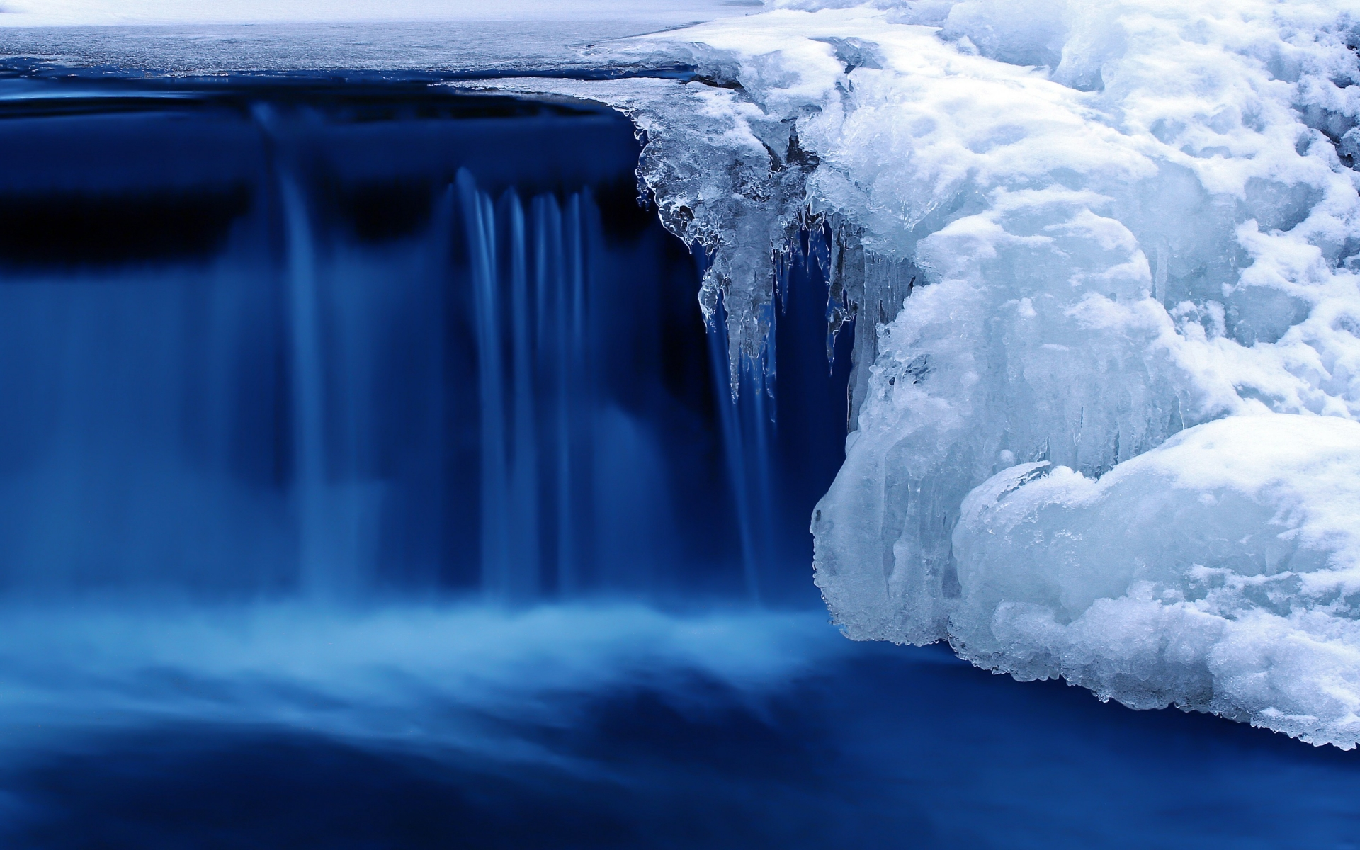 Frozen Cascade for 1920 x 1200 widescreen resolution