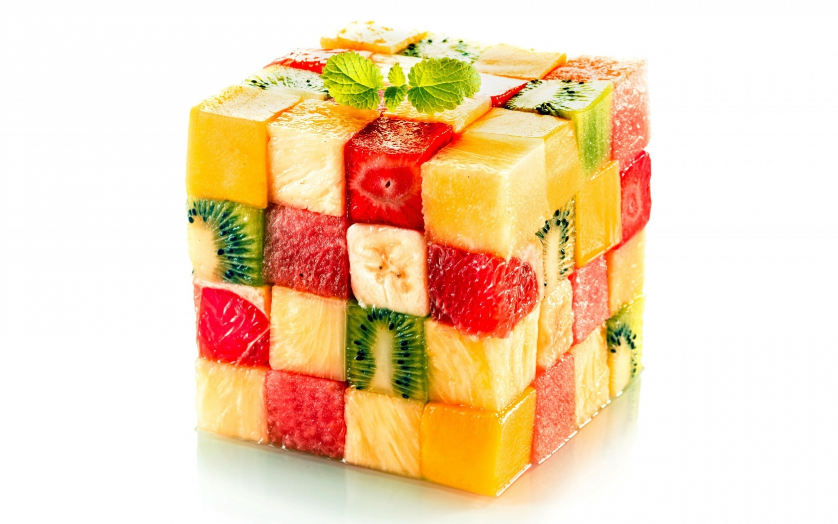 Fruit Salad Cube for 1680 x 1050 widescreen resolution