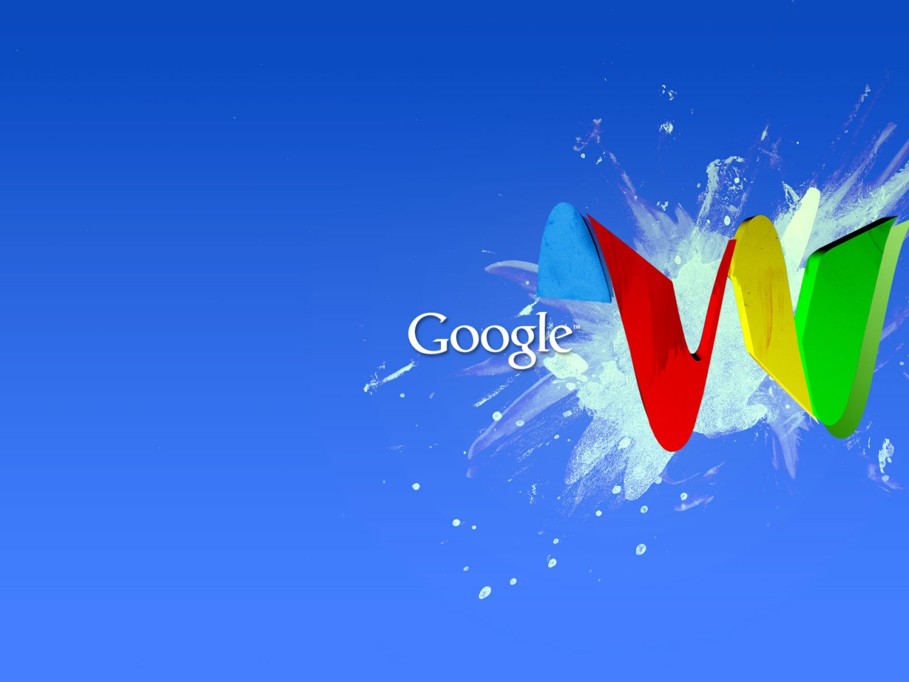 Google Wave for 1280 x 960 resolution